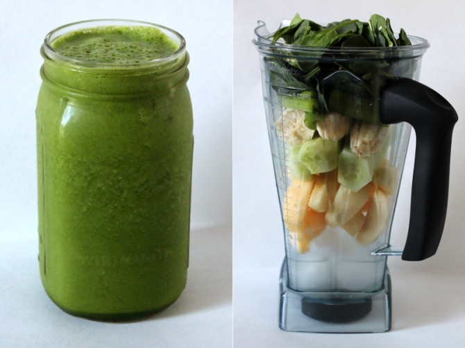 Sweet + Green Smoothie | Lauren Lives Healthy