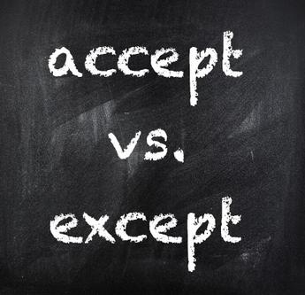 Perbedaan Dan Contoh Kalimat Accept Vs Except Dalam Bahasa Inggris
