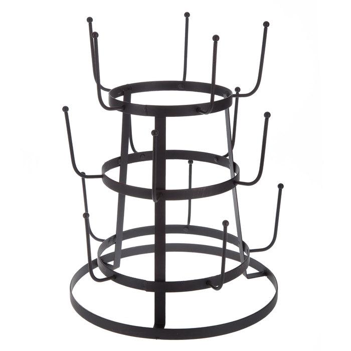 Black Metal Coffee Mug Rack in 2020 Mug rack, Hobby