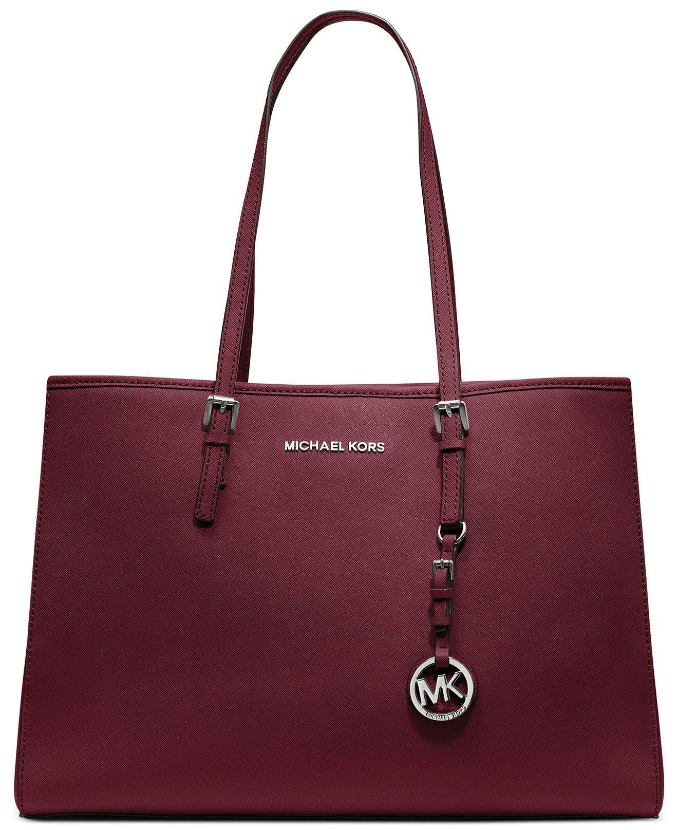 4a5978bfd224 Great work bag! MICHAEL Michael Kors Handbag, Jet Set Travel East West Tote  - MICHAEL Michael Kors - Handbags & Accessories - Macy's