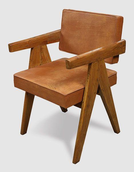 Pierre Jeanneret Le Corbusier Inventaire Mobilier Chandigarh Eric Touchaleaume Mobilier Mobilier De Decoration Pierre Jeanneret