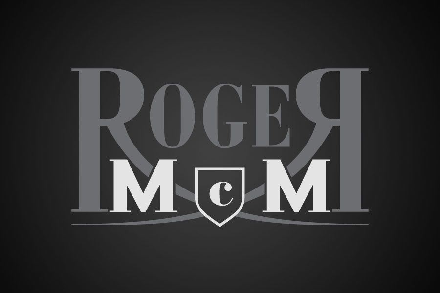 Logo for Roger McMullan.