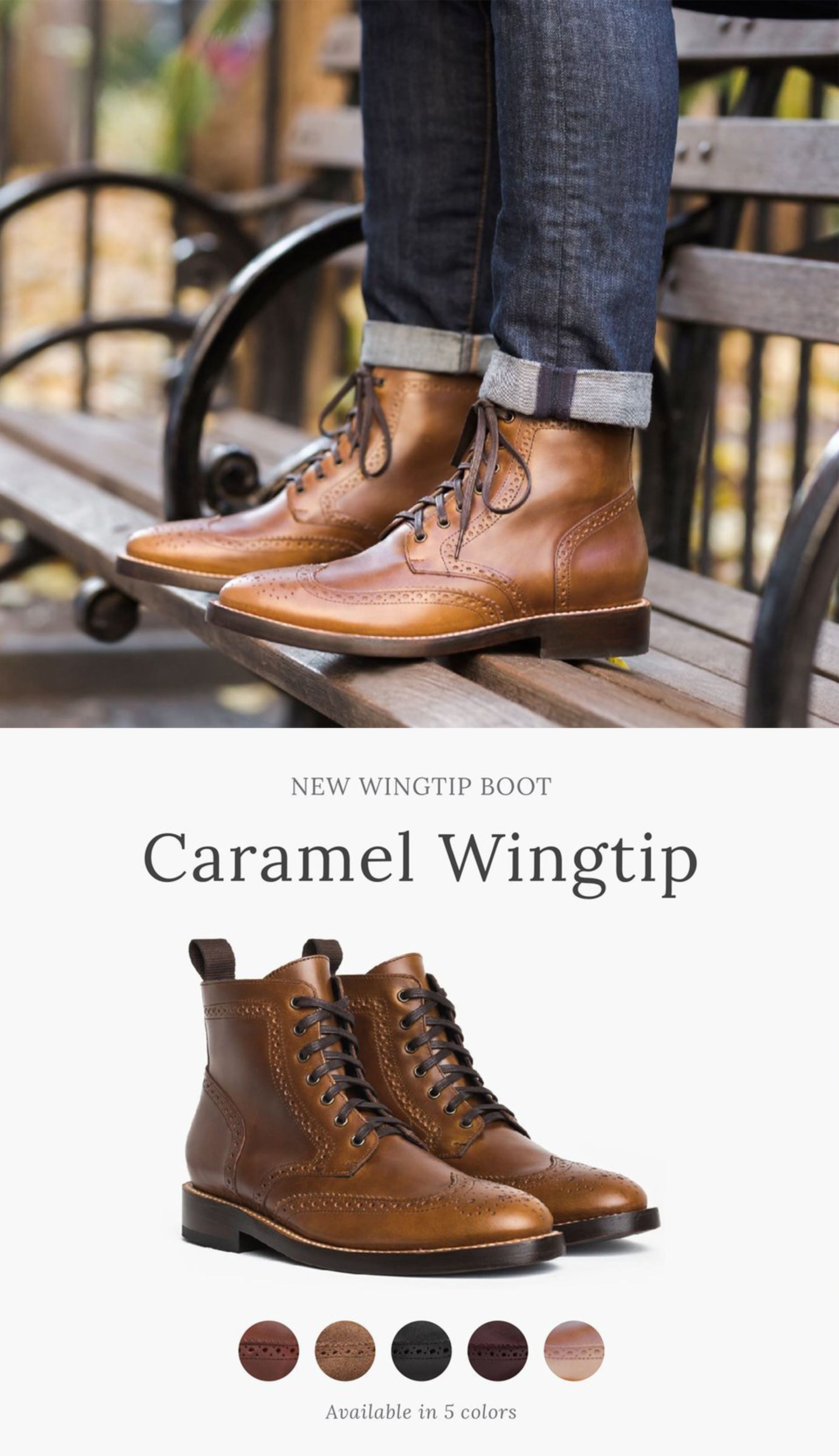 Shop the Men's Wingtip Boot at . 5,000+ 5