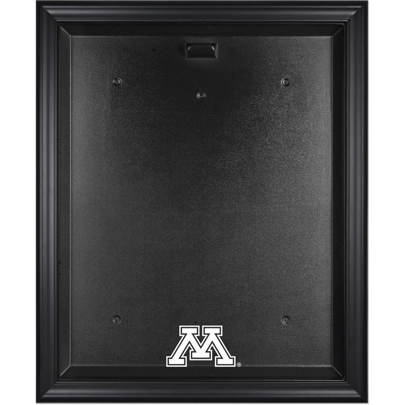 Minnesota Golden Gophers Fanatics Authentic Black Framed Logo Jersey Display Case
