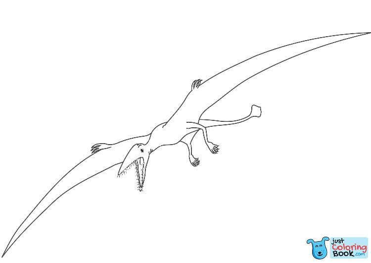 Pterodactyl Dinosaur Coloring Page Free Printable Coloring Pages With Fight Of Pterodactyls Coloring Pages