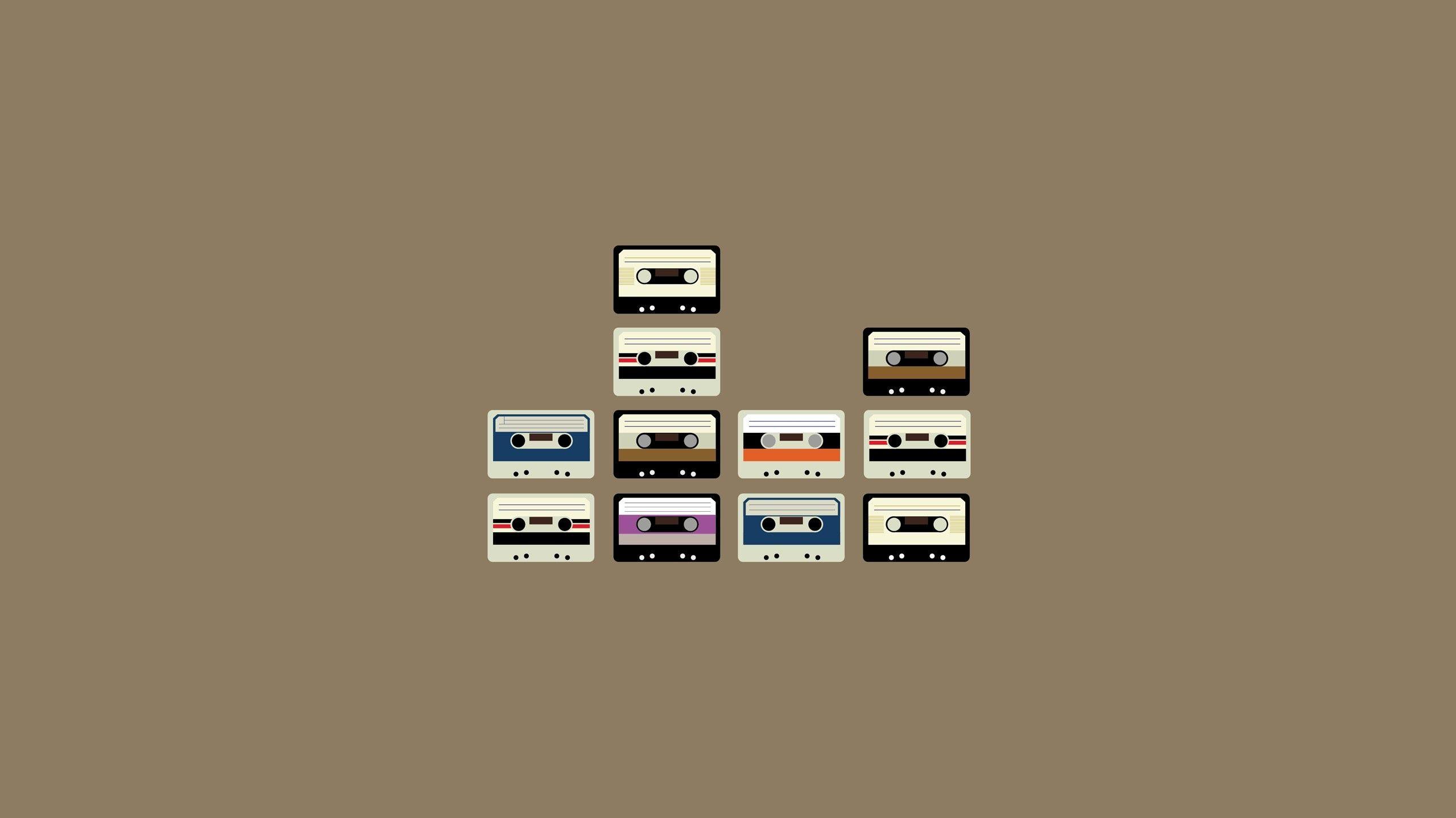 2560x1440 Wallpaper Cassette Set Retro Desktop Wallpaper Art Minimalist Wallpaper Minimalist Desktop Wallpaper