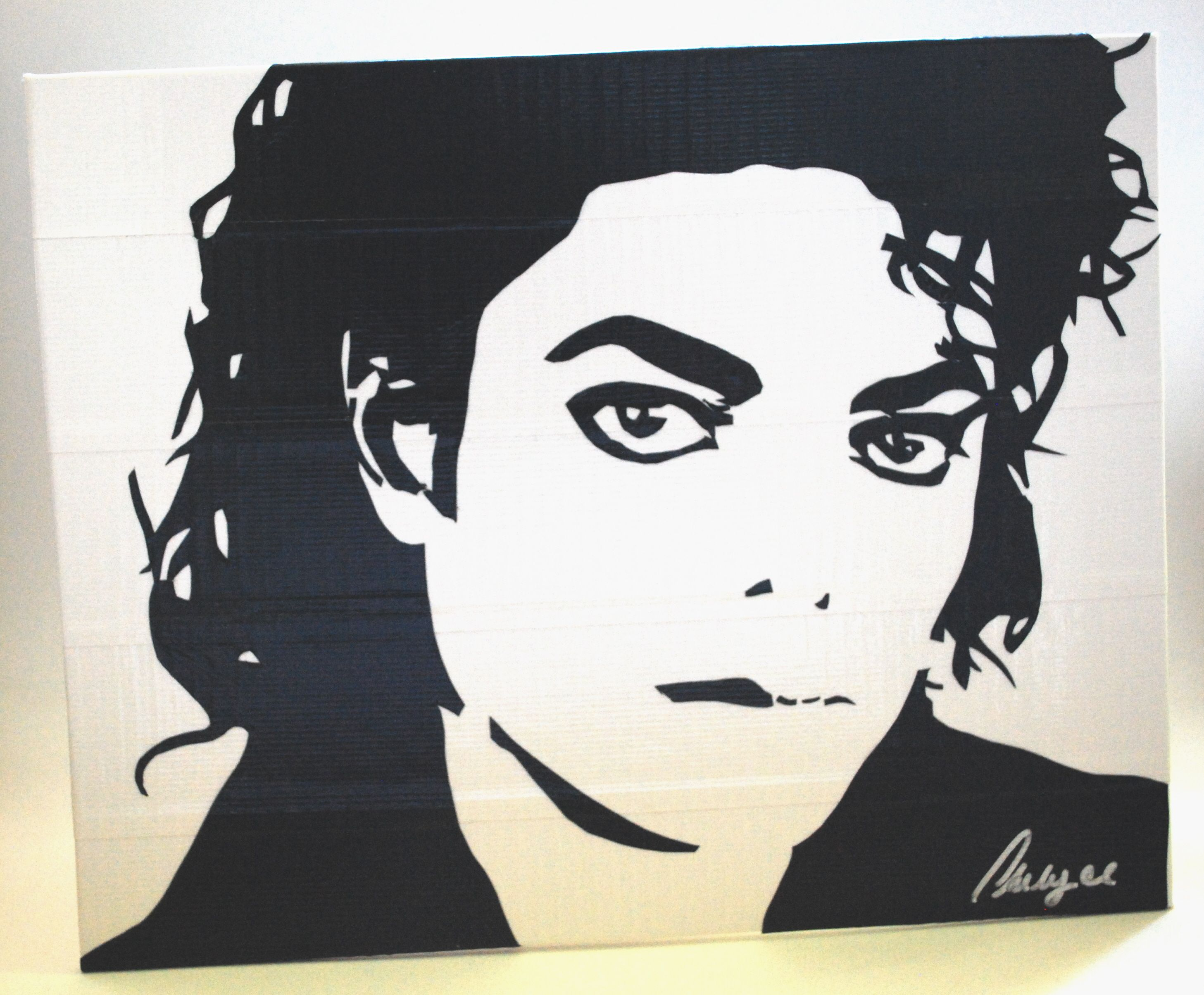 michael jackson quotking of popquot duct tape art pinterest