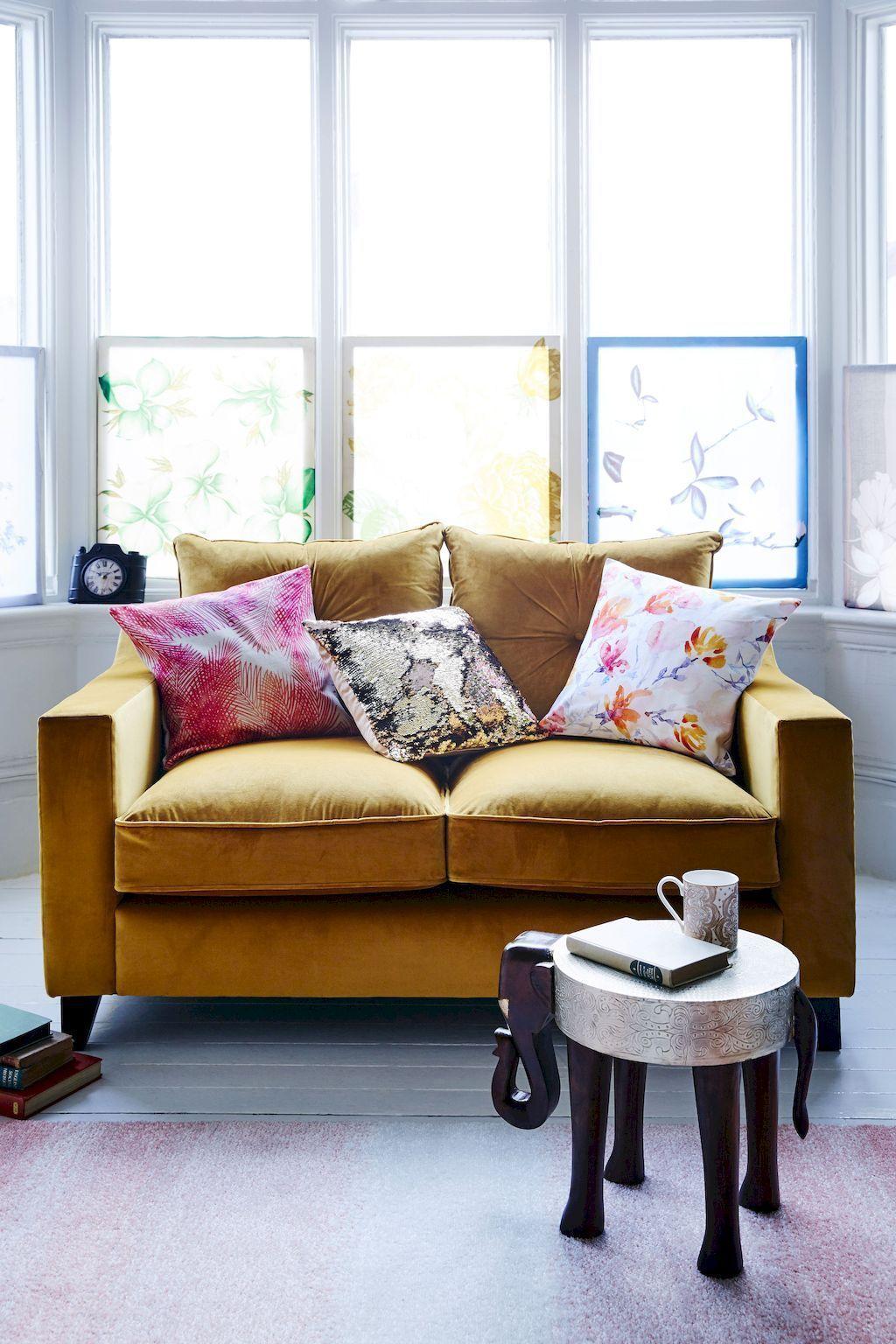 28 inspiring yellow sofas for living room decor ideas