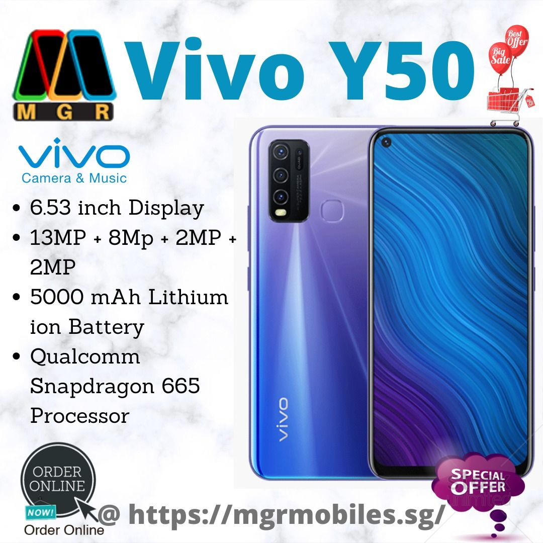Vivo Y50 Mobile Phone Shops Mobile Phone Company Best Mobile Phone