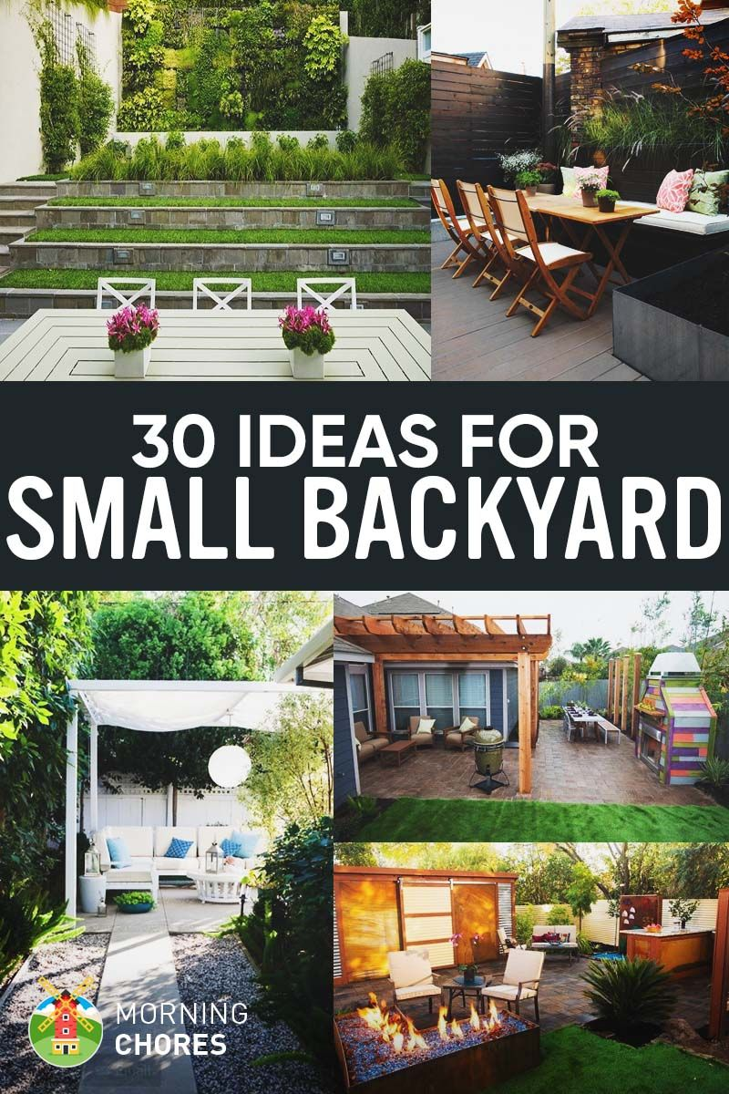 30 Small Backyard Ideas That Will Make Your Backyard Look ... on Big Backyard Garden Ideas id=21679