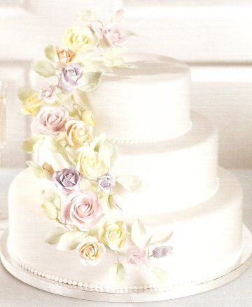 Beautiful But Simple Wedding Cakes With 2 And 3 Tiers Design Fine Decorations