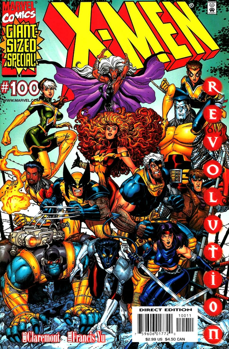 X Men 1991 Issue 100 Read X Men 1991 Issue 100 Comic Online In High Quality X Men Comics Marvel