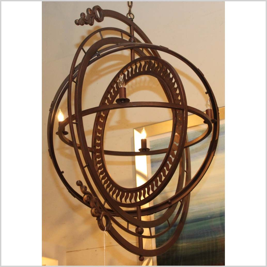 armillary sphere light- really steampunk looking