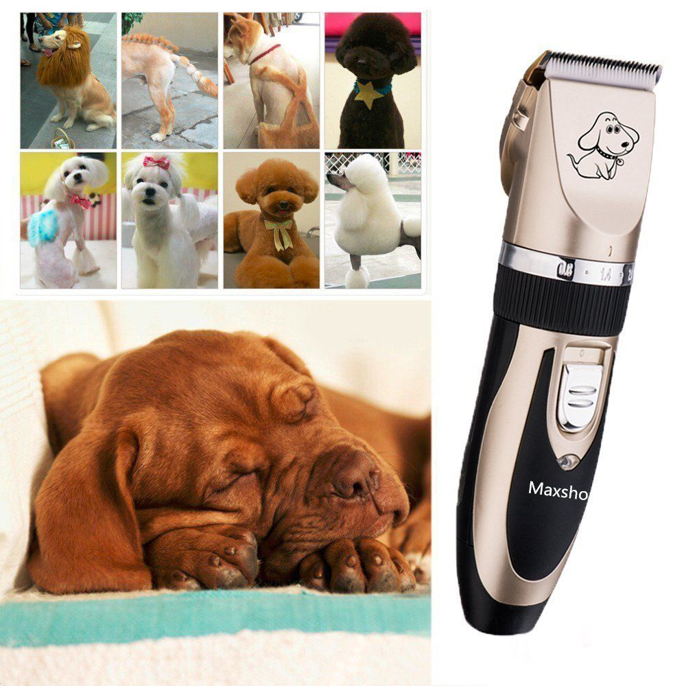 This Pet Clipper Set Keeps Your Pets Always Looking Good It S Very Useful Both In Home And Professio Dog Grooming Clippers Cat Grooming Pet Grooming