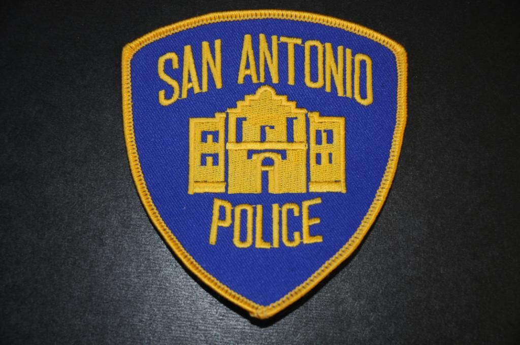 San Antonio Police Patch, Bexar County, Texas (Current Issue