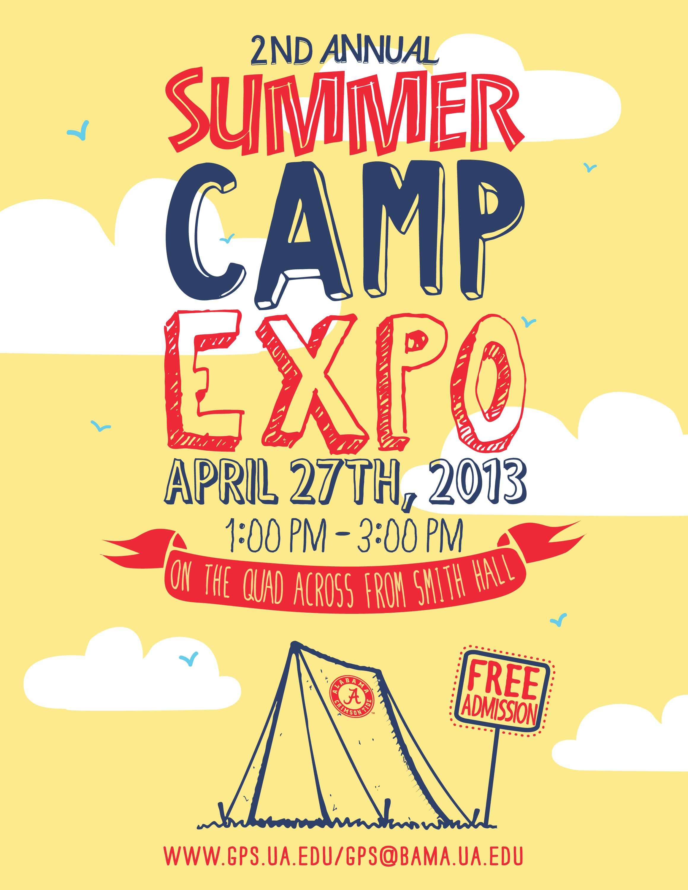 Awesome Summer Camp Flyer | flyer | Pinterest | Camping and Summer