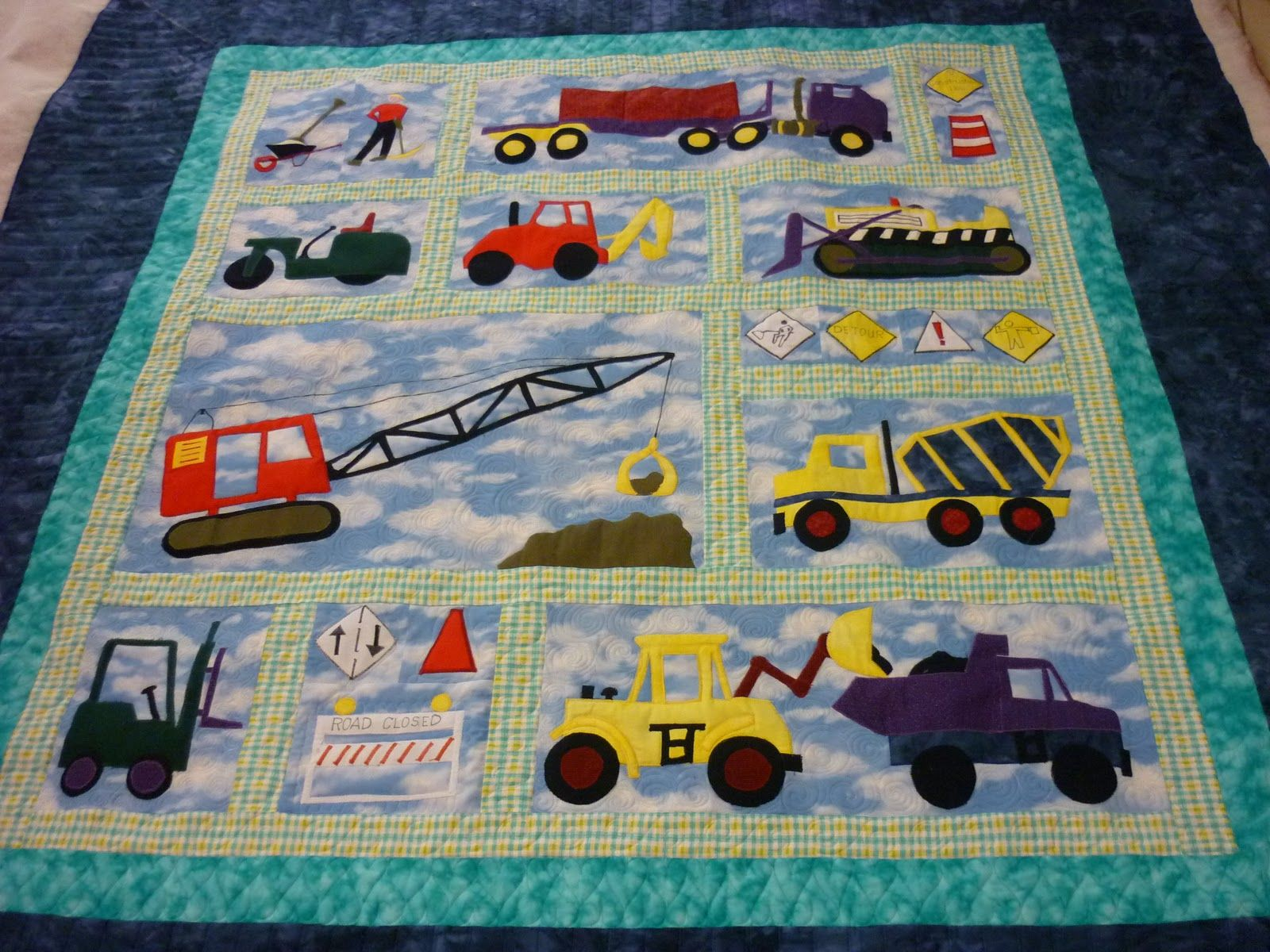 Sports quilt patterns for boys girl or boy nursery quilt for Boy quilt fabric