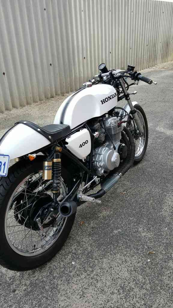 Honda CB400 Cafe Racer Bobber Street Fighter | FTW Bikers