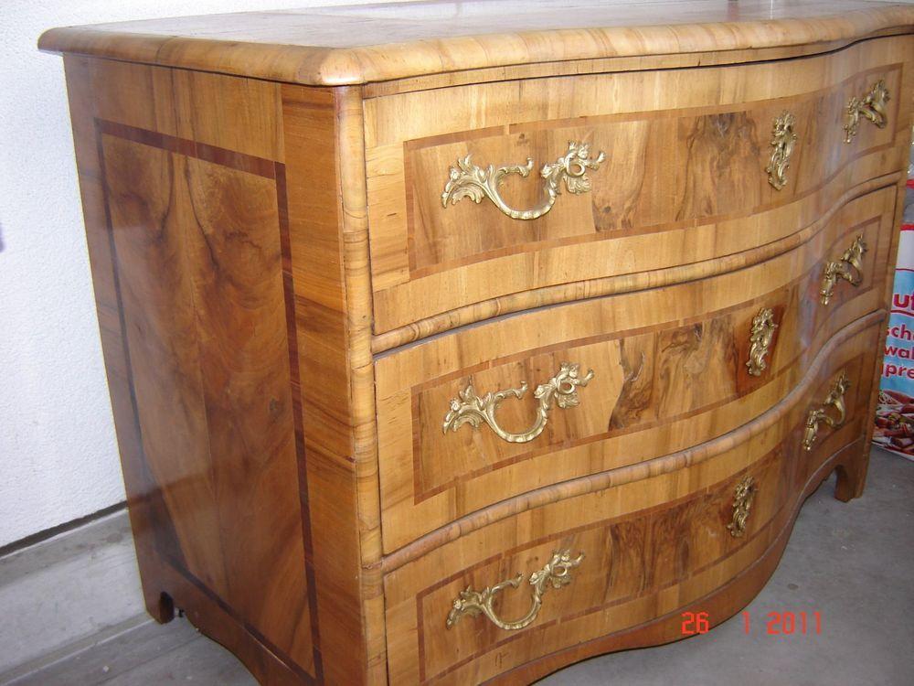details zu org barock kommode um 1750 furniert nussbaum rheinland kommoden pinterest. Black Bedroom Furniture Sets. Home Design Ideas
