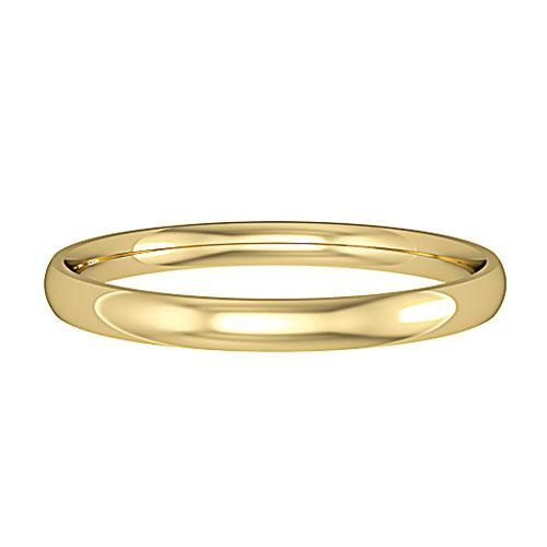 18ct Yellow Gold Ladies 2mm Wide Court Profile Wedding Ring 225 Yellow Gold Wedding Ring Wedding Rings Rings