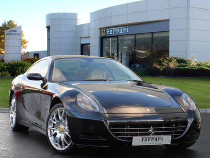 Used 2008 ( reg) Black Ferrari 612 One-To-One for sale on RAC Cars