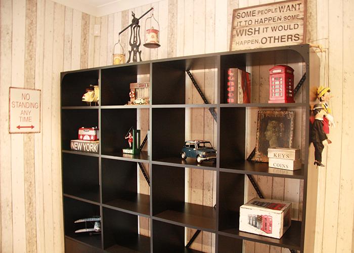 Tiipii Interiors Pty Ltd - Interior Design Melbourne Adelaide - Portfolio Vintage Study, custom cabinetry