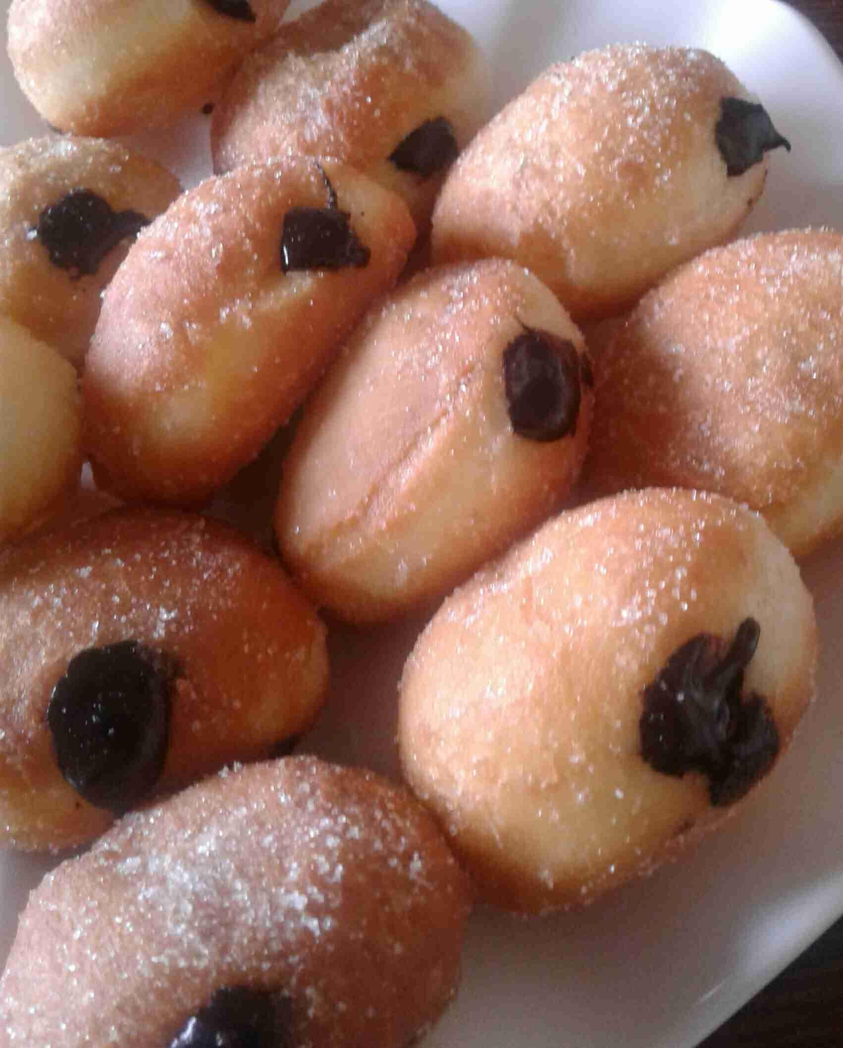 بومبوليني بحشوة النوتيلا زاكي Recipe Food Desserts Yummy