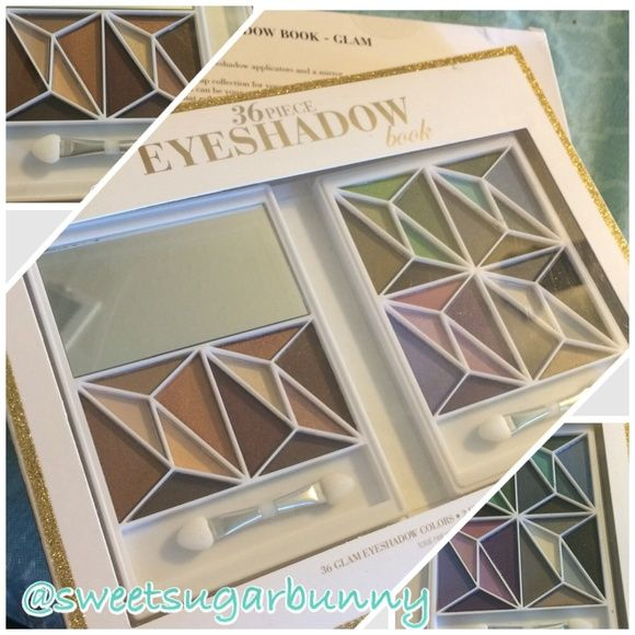 36 Piece Eye Shadow Book Awesome eyeshadow book by Elf. Elf brand makeup is gentle on the skin and cruelty free, so no animal testing. This great set includes 36 eye shadows.   2 available  Top-Rated Seller Fast Shipper Discount on Bundles Free Gift For All Orders $20 & up No Paypal No Trades ELF Accessories