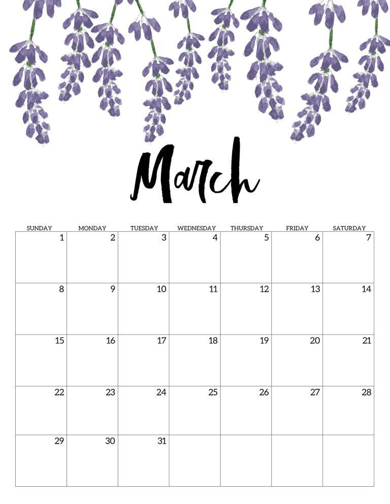 Great Absolutely Free March 2020 Calendar Strategies Kalender
