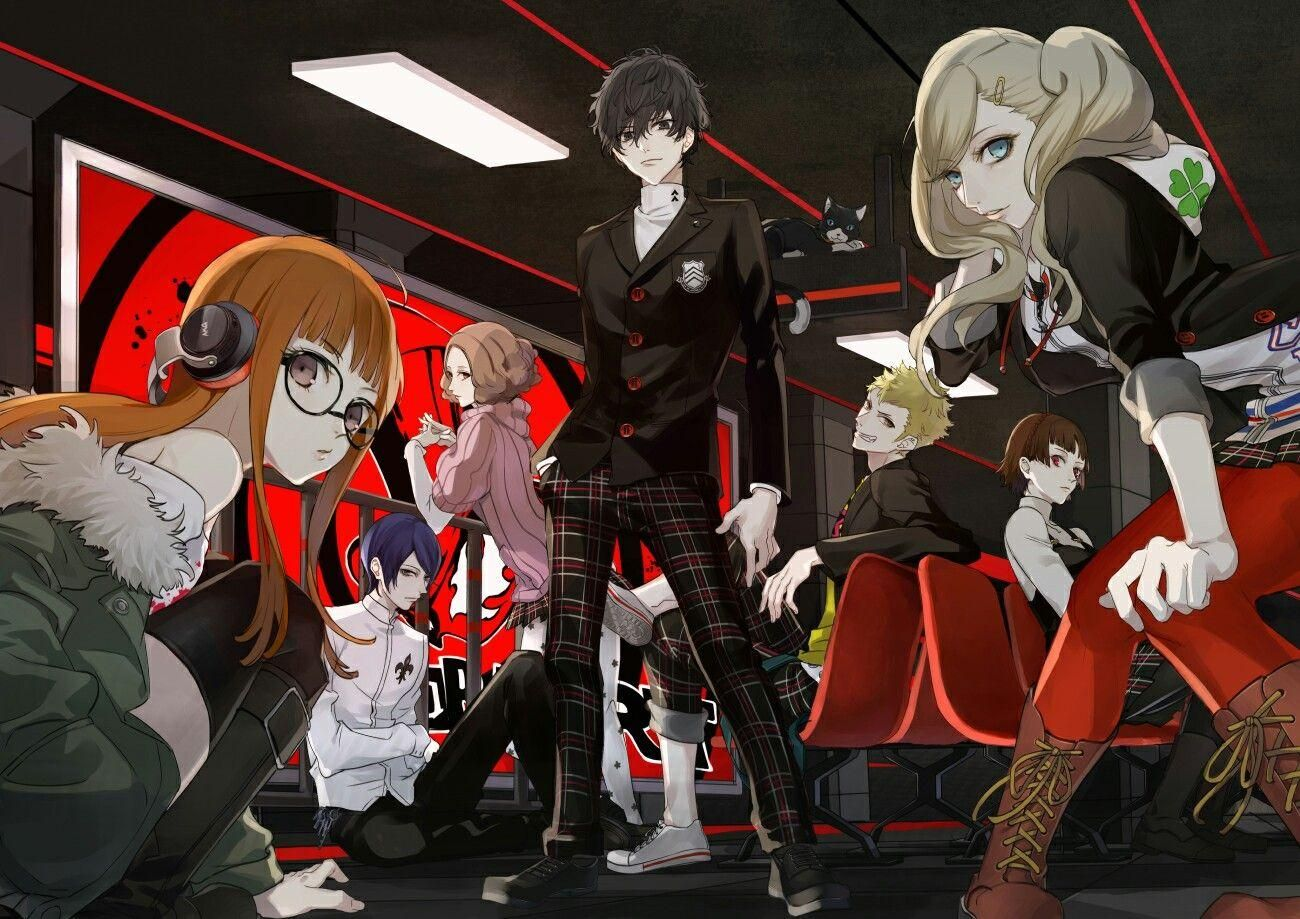 Pin by Luciana Tanner on Persona Design Persona 5
