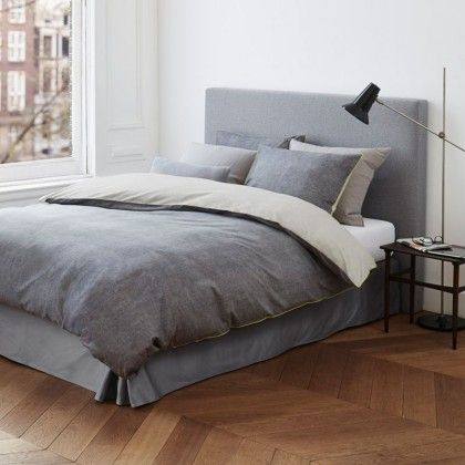marc o 39 polo bettw sche kele anthrazit bedroom bettw sche bett w sche. Black Bedroom Furniture Sets. Home Design Ideas