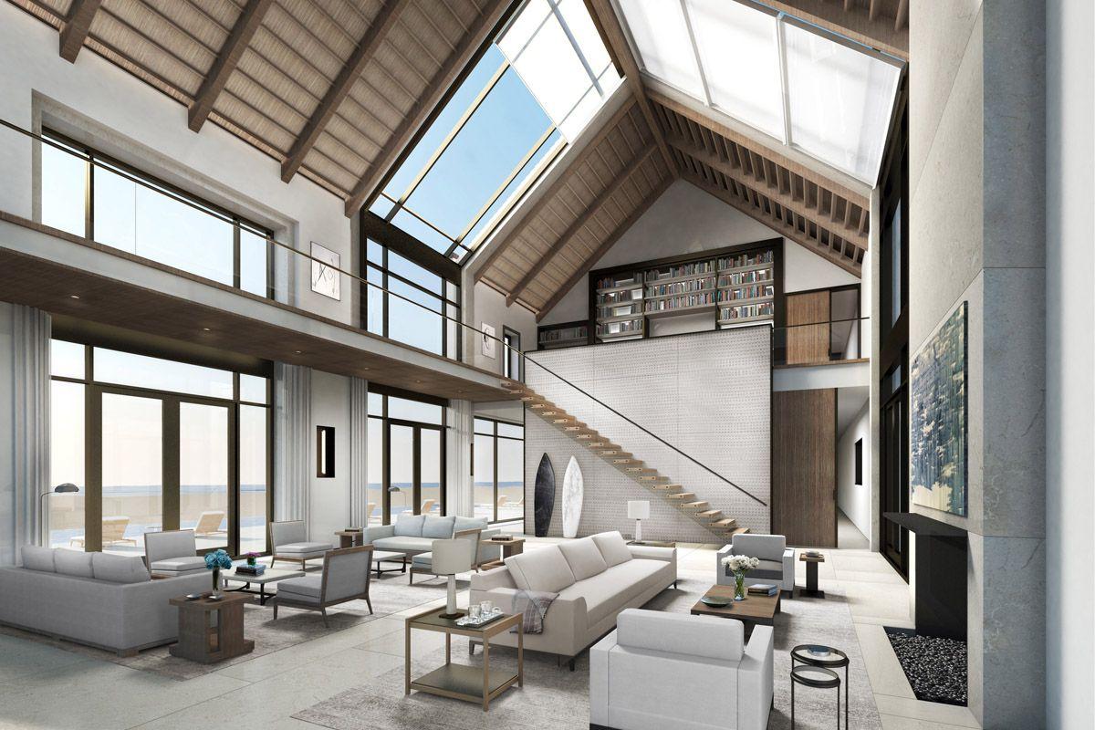 Modern Barn House Interior Design