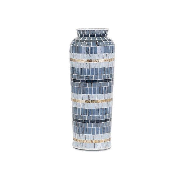 Cowboy Mosaic Vase