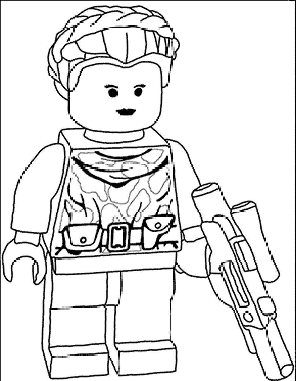 Lego Star Wars Coloring Pages To Print Lineart Star Wars