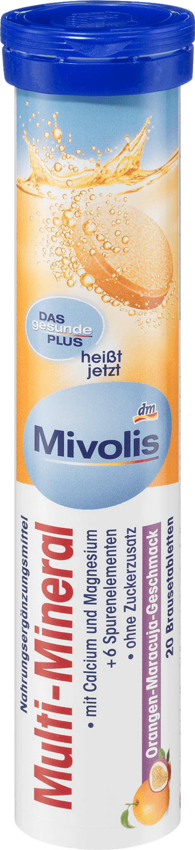 Mivolis Multi Mineral Brausetabletten 20 St 82 G Dauerhaft