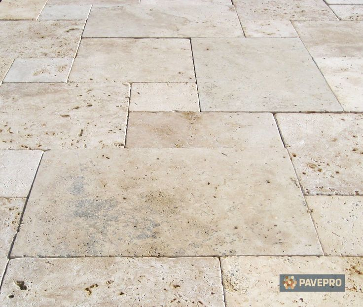 Outdoor Travertine Pavers Tile 1400x1185