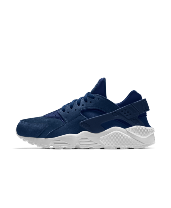 7a1d2cd30284 Nike Air Huarache Essential iD Midnight Navy White Shoes Very stylish shoes