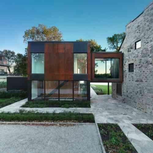 Extension maison bois : moderne et fonctionnelle | Haus & Hof ...
