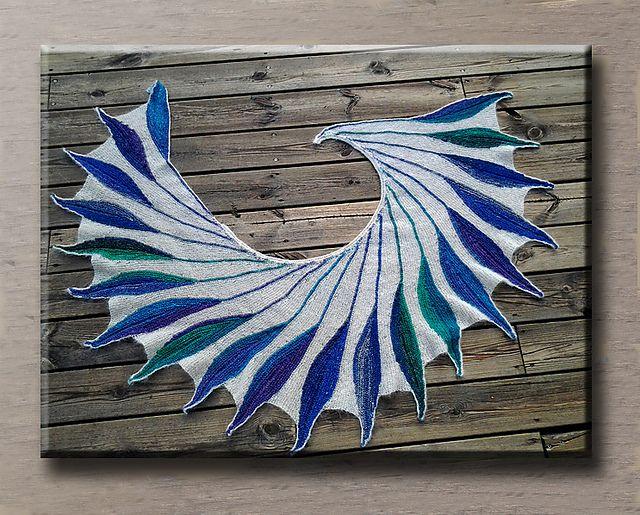 Dreambird KAL pattern by Nadita Swings | Ravelry, Patterns and Shawl