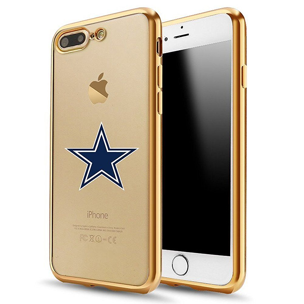 IPhone 7 Plus CaseElectroplate Soft TPU Back Cover For Gold