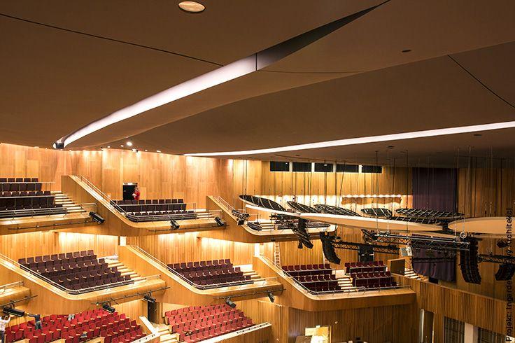 Sala S1 To Rowniez Sufit Akustyczny Ktory Zostal Zbudowany W Tzw