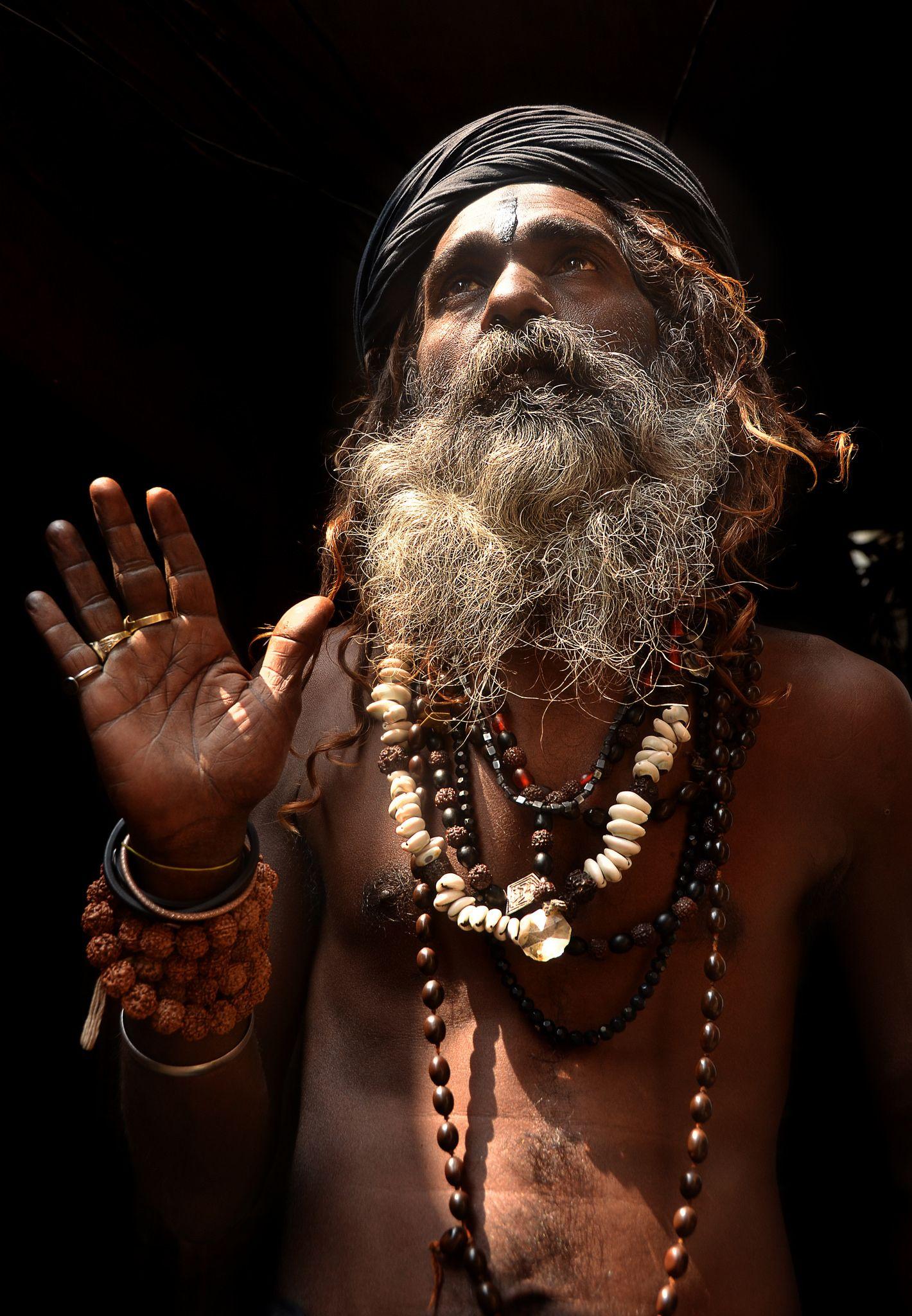 Aghori Sadhu powerful portrait, Varanasi, India | aghori