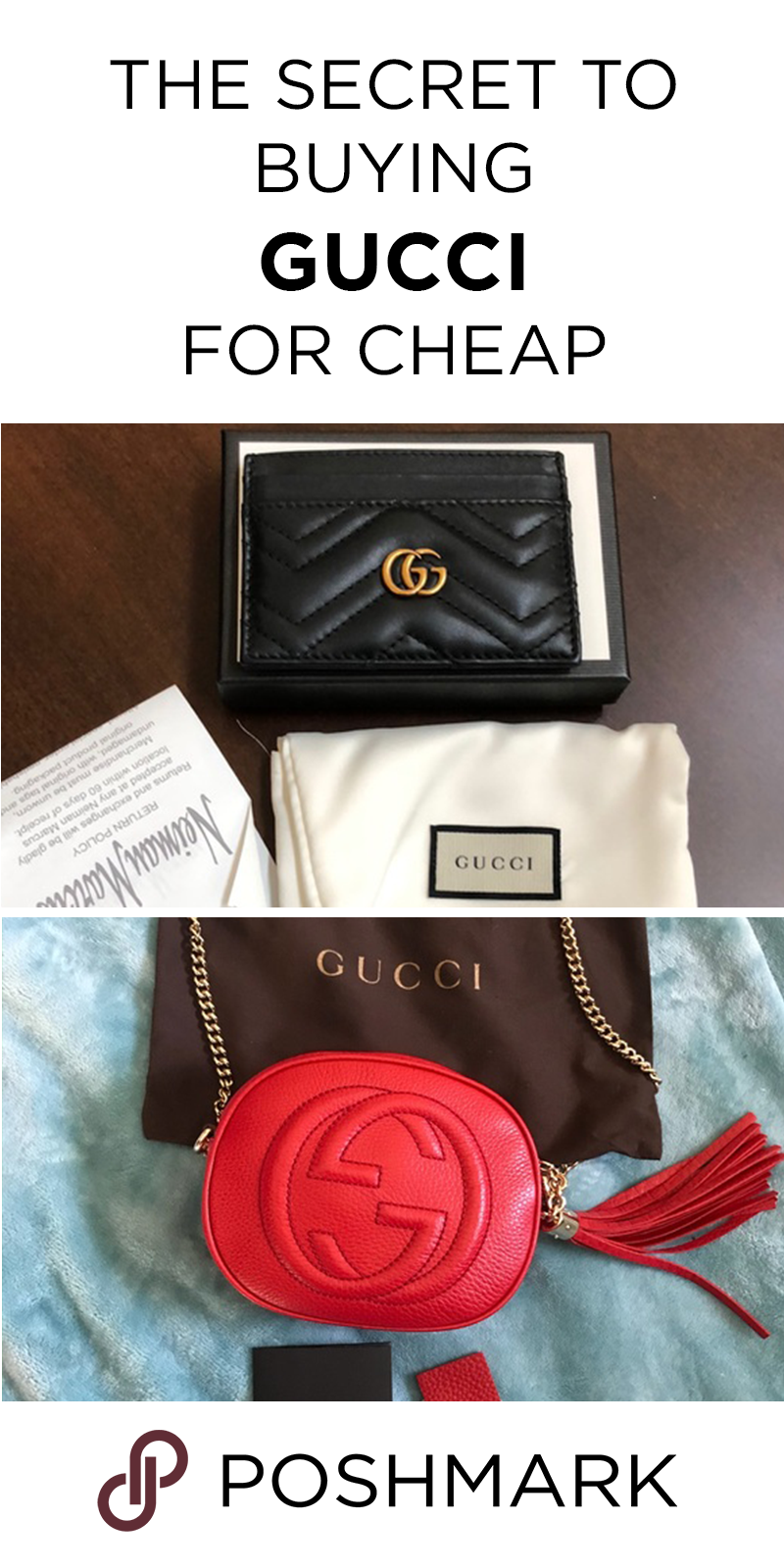 20bb1121ebccc Find Gucci at cheap prices when you shop on Poshmark. Download the app for  the best deals on luxury designer handbags!
