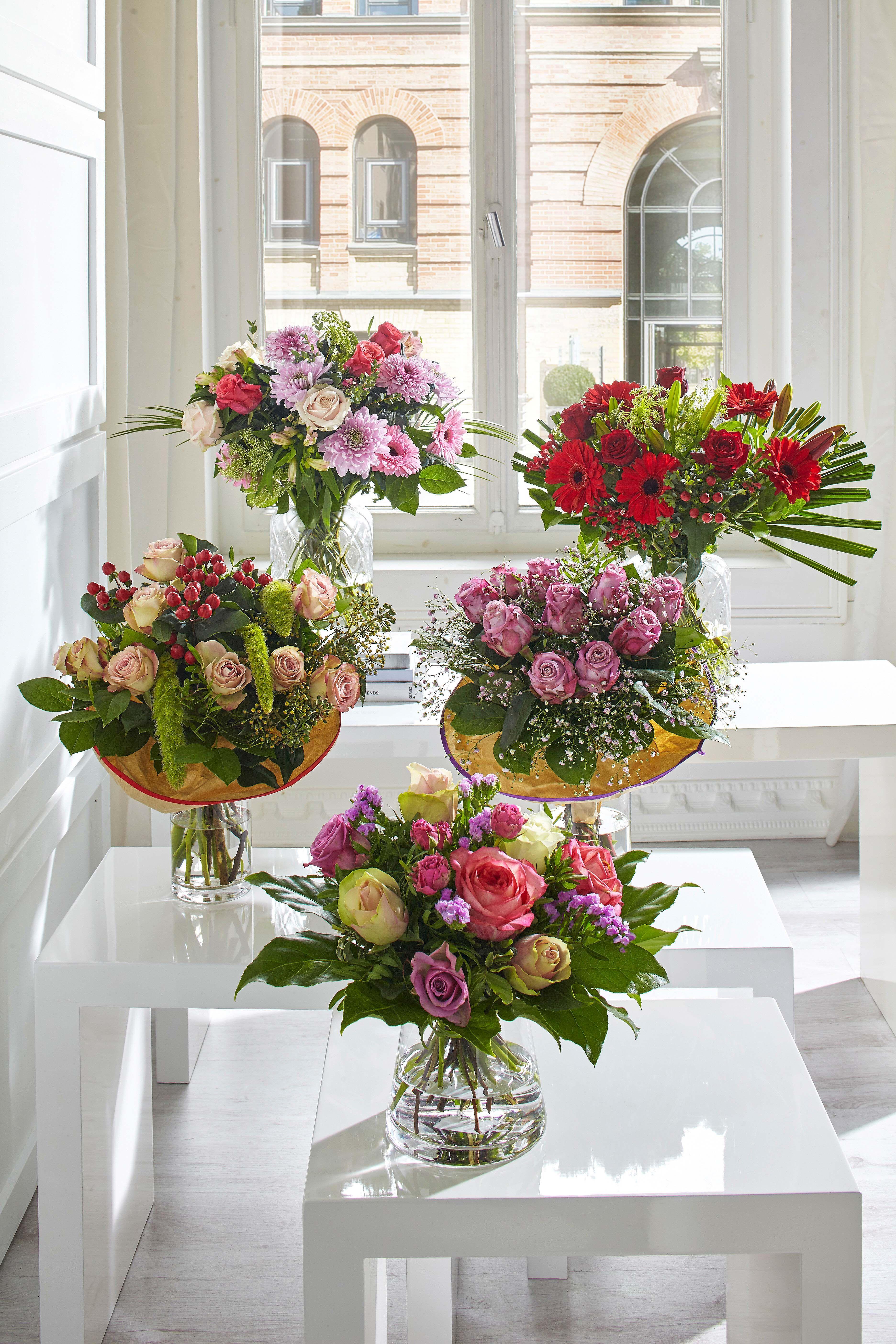 Blumenstrausse Blumenladen Dekor Blumenstrauss Blumenarrangements