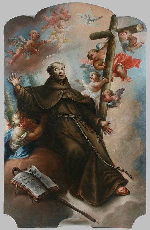 Anton Schmidt - Sv. Peter z Alcantary