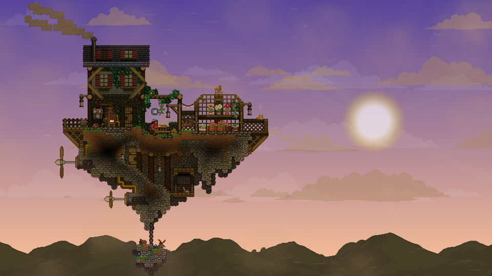 Pin by Kyle Thrall on Starbound Terraria house ideas
