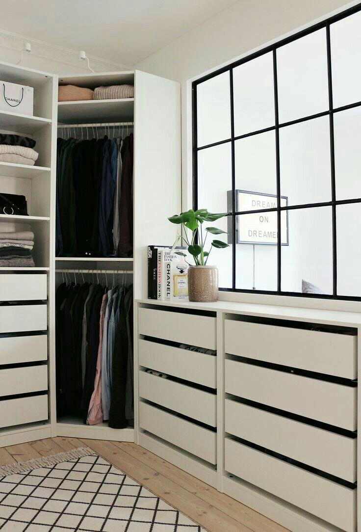 Pin By Mimiiimim On Storage Pinterest Robe Room And Dressing Room ~ Organizacion De Armarios Empotrados