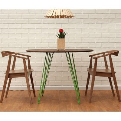 Tronk Design Williams Dining Table Finish: Green