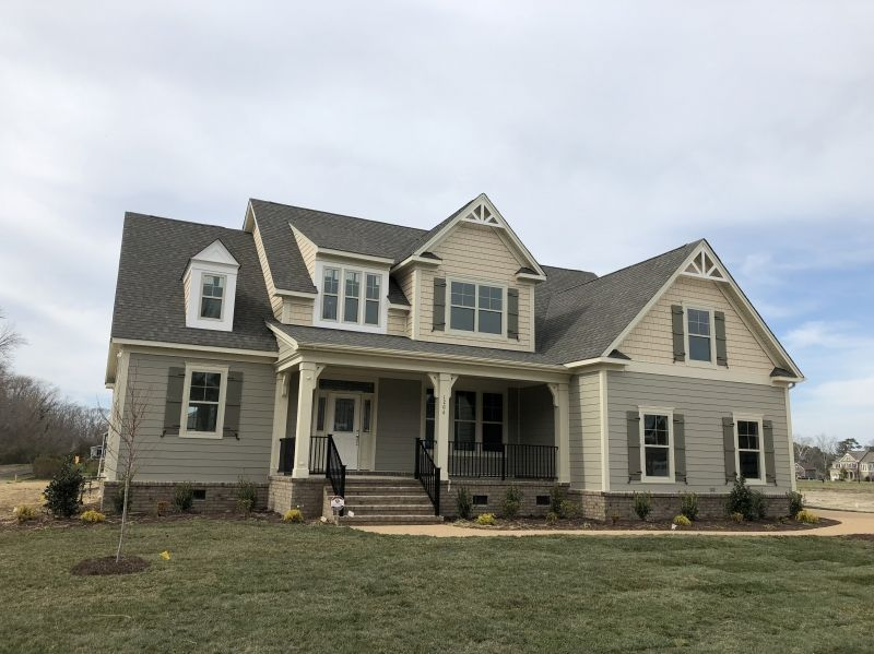 Statesboro House Plan Elevation House Plans With Photos Southern Living House Plans Modern Farmhouse Exterior