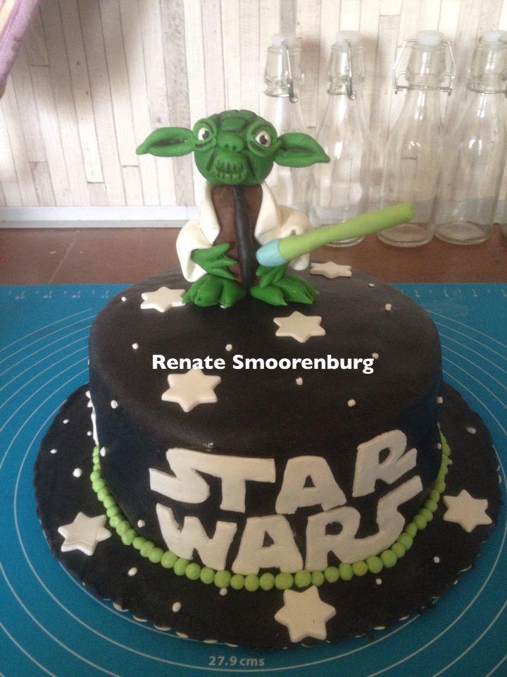 yoda taart Star Wars Yoda taart | Een taartje van Renaatje | Pinterest yoda taart